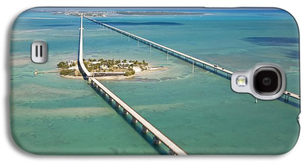Pigeon Galaxy S4 Case - Seven Mile Bridge Crossing Pigeon Key by Mike Theiss