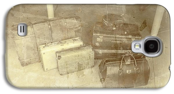 Several Vintage Bags On Floor Galaxy S4 Case by Jorgo Photography - Wall Art Gallery