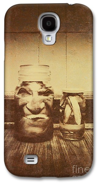 Severed And Preserved Head And Hand In Jars Galaxy S4 Case