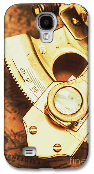 Sextant Sailing Navigation Tool Galaxy S4 Case by Jorgo Photography - Wall Art Gallery
