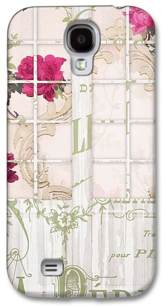Shabby Cottage French Doors Galaxy S4 Case by Mindy Sommers