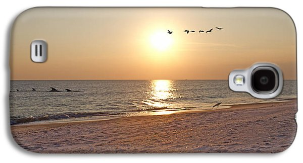 Shackleford Banks Sunset Galaxy S4 Case