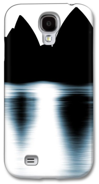 Shaded Peaks  Galaxy S4 Case by Az Jackson