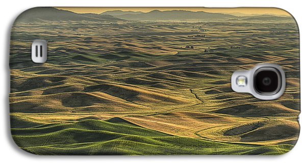 Shades Of The Palouse Galaxy S4 Case by Mark Kiver