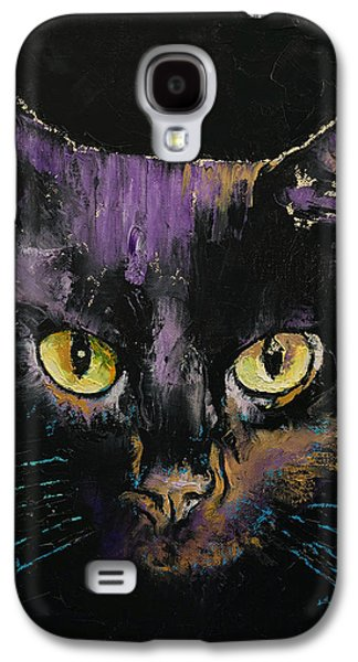 Shadow Cat Galaxy S4 Case by Michael Creese