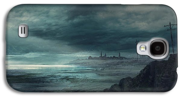 Boston Galaxy S4 Case - Shadow Over Innsmouth by Guillem H Pongiluppi