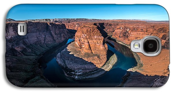 Shadows Of Horseshoe Bend Page, Arizona Galaxy S4 Case