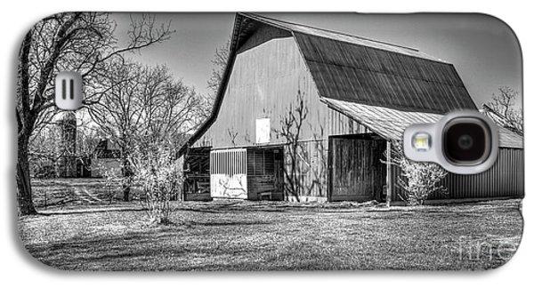 Shadows On The Wall Tennessee Barn Art Galaxy S4 Case by Reid Callaway