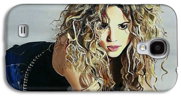 Shakira  Galaxy S4 Case by Gitanjali  Sood