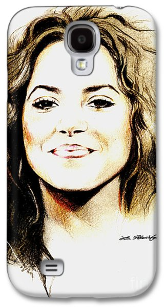 Shakira Galaxy S4 Case by Lin Petershagen