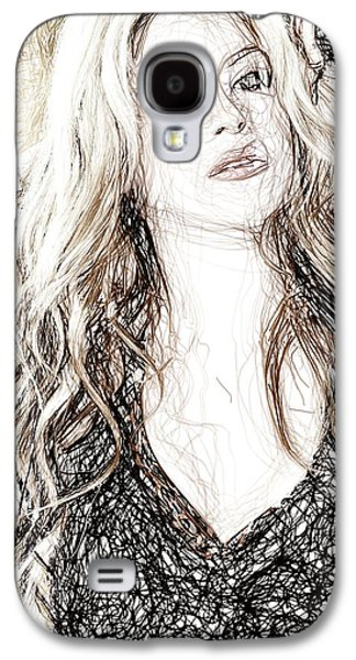 Shakira - Pencil Art Galaxy S4 Case
