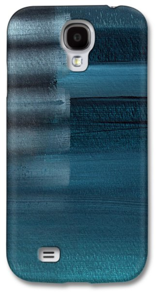 Shallow- Abstract Art By Linda Woods Galaxy S4 Case by Linda Woods