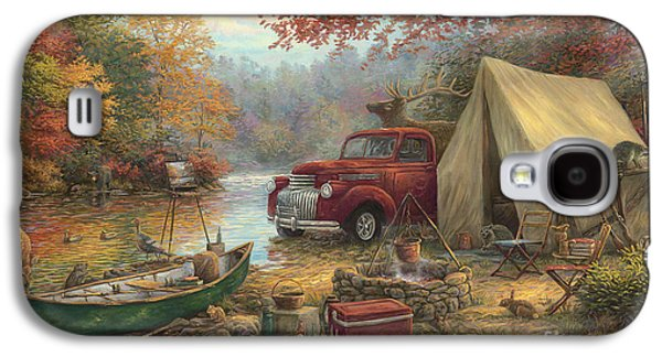 Share The Outdoors Galaxy S4 Case by Chuck Pinson