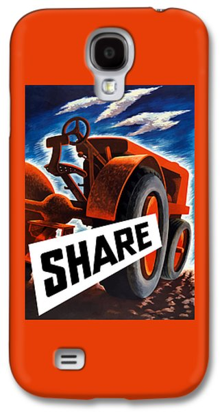 Tractors Galaxy S4 Case - Share  by War Is Hell Store