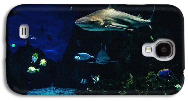 Shark In A Tank Galaxy S4 Case