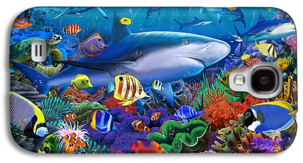 Shark Reef Galaxy S4 Case