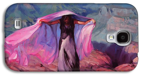 Grand Canyon Galaxy S4 Case - She Danced By The Light Of The Moon by Steve Henderson