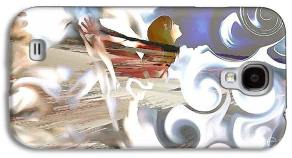 She Dreams Of Flying Galaxy S4 Case by Catherine Lott