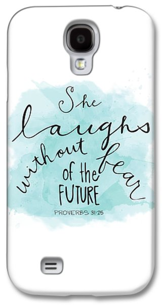 She Laughs Galaxy S4 Case