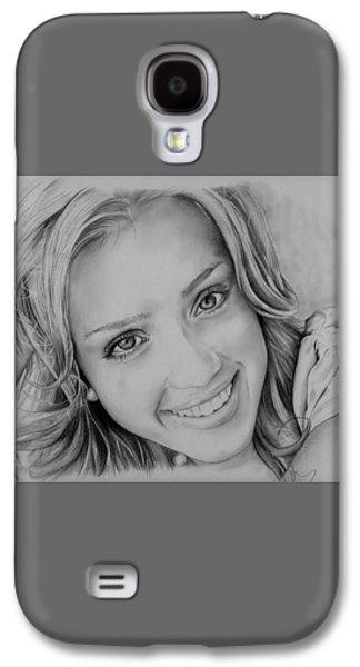 She Smiles Galaxy S4 Case by Jessica Perkins