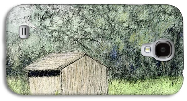 Shed In The Field Galaxy S4 Case
