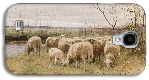 Sheep Galaxy S4 Case by Francois Pieter ter Meulen