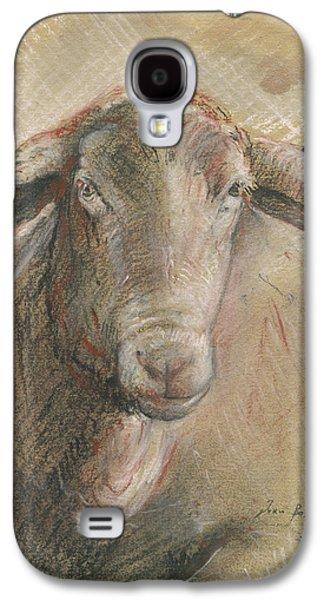 Sheep Head Galaxy S4 Case by Juan Bosco