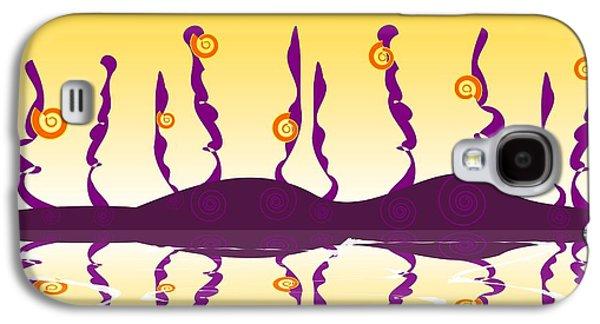 Shell Life Galaxy S4 Case by Anastasiya Malakhova