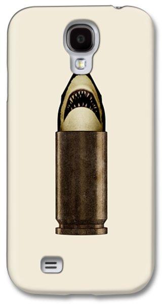 Galaxy S4 Case - Shell Shark by Nicholas Ely