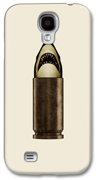 Sharks Galaxy S4 Case - Shell Shark by Nicholas Ely