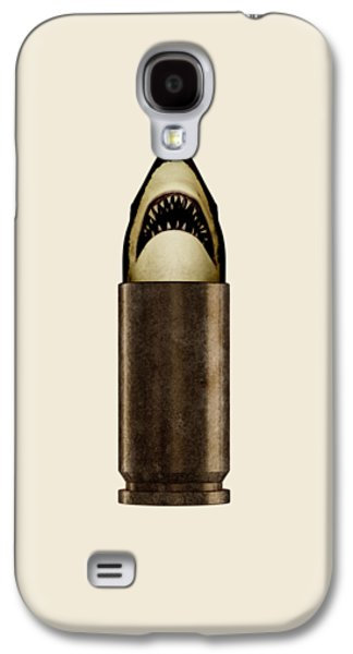 Shell Shark Galaxy S4 Case by Nicholas Ely