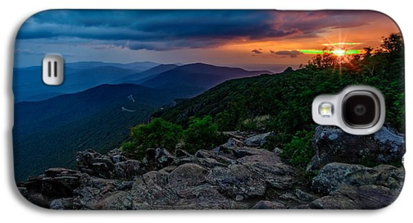 Shenandoah Sunrise Galaxy S4 Case by Rick Berk