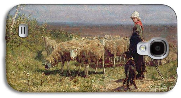 Shepherdess Galaxy S4 Case by Anton Mauve