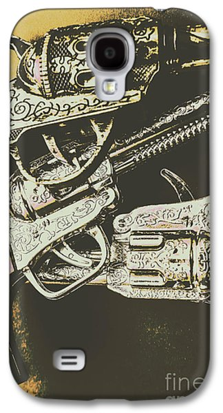 Sheriff Guns Galaxy S4 Case