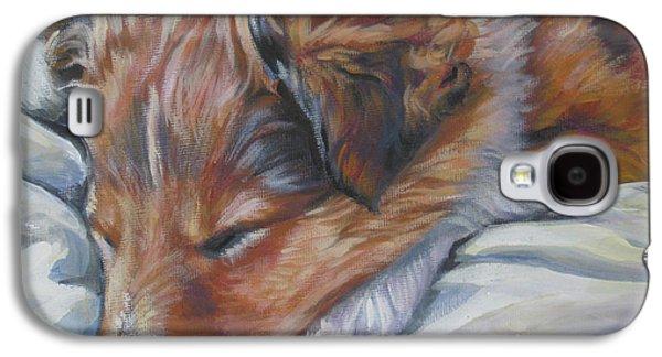 Shetland Sheepdog Sleeping Puppy Galaxy S4 Case