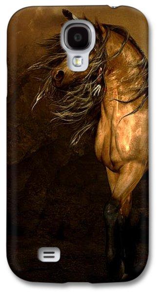 Shikoba Choctaw Horse Galaxy S4 Case by Shanina Conway