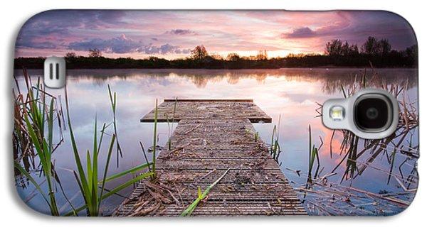 Shinewater Lake Sunrise Galaxy S4 Case