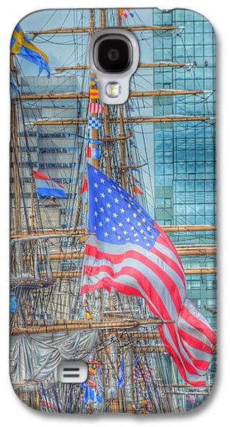 Ship In Baltimore Harbor Galaxy S4 Case by Marianna Mills
