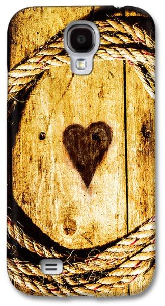 Ship Shape Heart Galaxy S4 Case