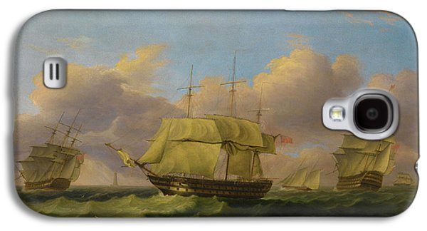 Shipping Off The Eddystone Galaxy S4 Case by Thomas Luny