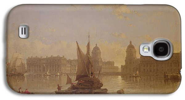 Shipping On The Thames At Greenwich Galaxy S4 Case