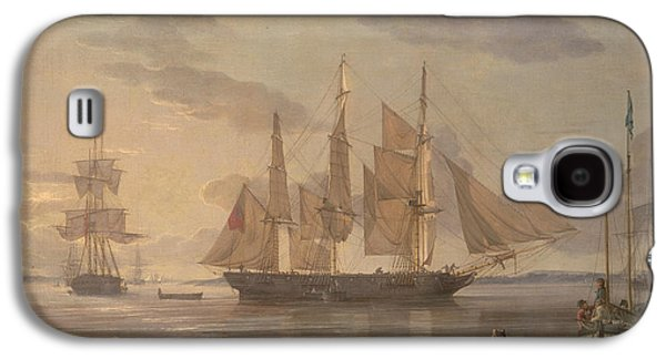 Ships In Harbor Galaxy S4 Case by Robert Salmon