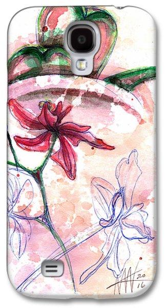 Shiraz Orchid II Galaxy S4 Case