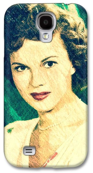 Shirley Temple By John Springfield Galaxy S4 Case by John Springfield