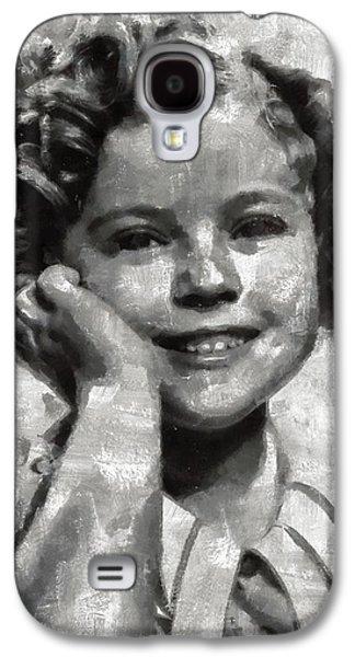 Shirley Temple By Mary Bassett Galaxy S4 Case by Mary Bassett