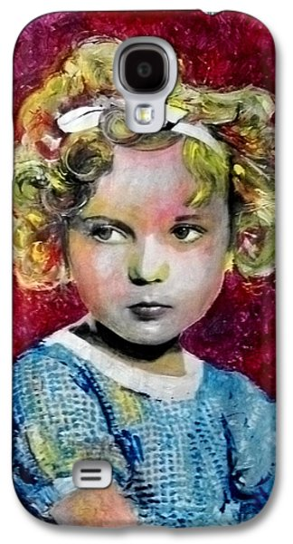 Shirley Temple Galaxy S4 Case