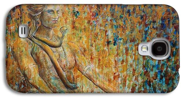 Shiva Meditation 2 Galaxy S4 Case