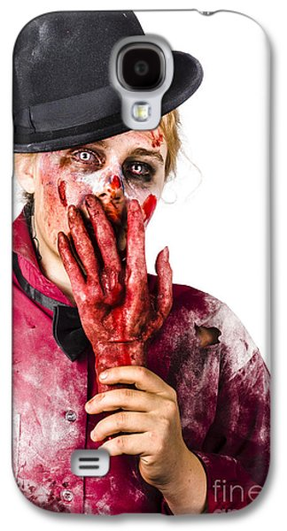 Shocked Zombie Holding Severed Hand. Dead Silence Galaxy S4 Case by Jorgo Photography - Wall Art Gallery
