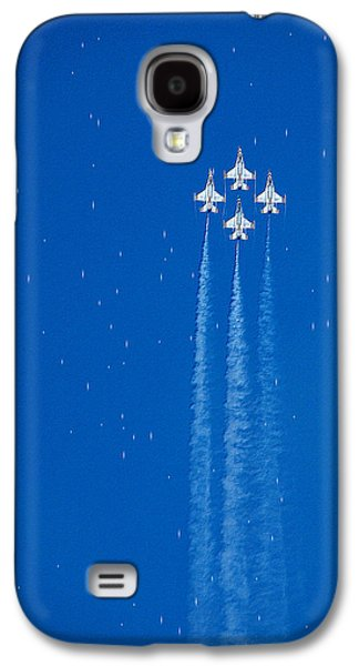 Shooting Stars Galaxy S4 Case by Paul Ge