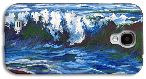 Shore Berm Regatta Galaxy S4 Case by Vanessa Hadady BFA MA